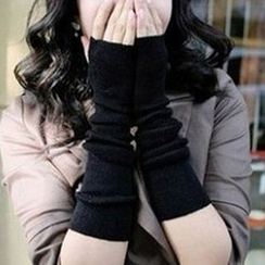 Cheermo - Fingerless Knit Gloves