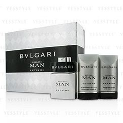 Bvlgari - Man Extreme Coffret: Eau De Toilette Spray 60ml/2oz + After Shave Balm 75ml/2.5oz + Shower Gel 75ml/2.5oz