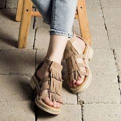 MIAOLV - Fringe Sandals
