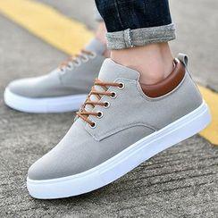 Rizmond - Canvas Lace-Up Shoes