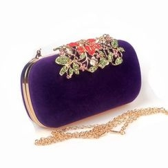 Bling Bag - Embellished Clipframe Clutch
