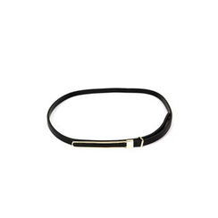 DABAGIRL - Slim Faux-Leather Belt