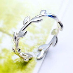 A'ROCH - 925 Sterling Silver Leaf Ring