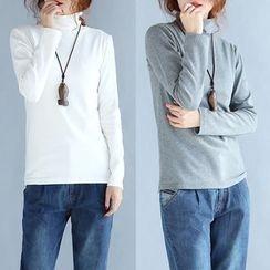 Taragon - Long-Sleeve High Neck T-Shirt