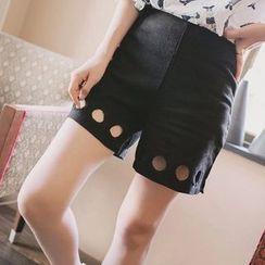 微米家 - 镂空短裤
