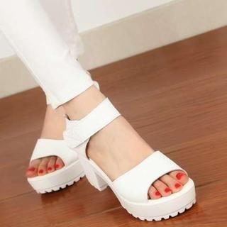 Pangmama - Chunky Heel Sandals