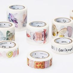 Homey House - Printed Masking Tape
