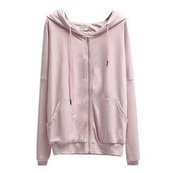 Primula - Plain Hooded Zip Jacket