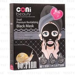 coni beauty - Snail Premium Revitalizing Black Mask