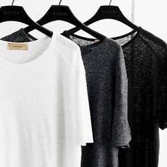 NANING9 - Raglan-Sleeve T-Shirt