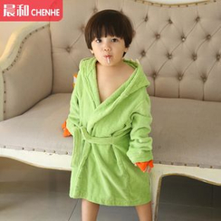 Morning Dew - Kids Dinosaur Robe