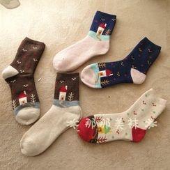 NANA Stockings - House Pattern Socks