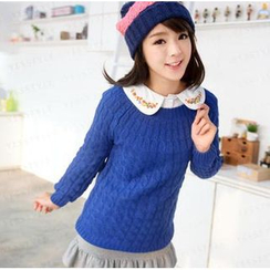 59 Seconds - Cable Knit Sweater