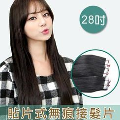 Clair Beauty - 28 Inch Clip-In Hair Extension - Straight (20 Pieces 1 Set)