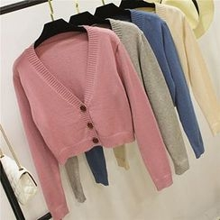 Honey House - Cropped Cardigan
