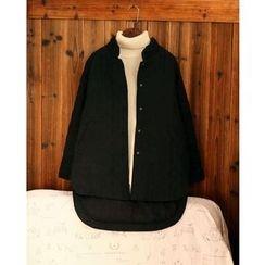 tete - 長尾夾棉大衣