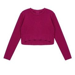 Wiese - Long-Sleeve Cropped T-Shirt