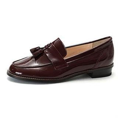MODELSIS - Tassel-Detail Faux-Leather Loafers