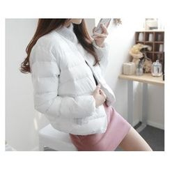 demavie - Single-Button Padded Jacket