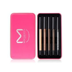 MACQUEEN - Waterproof Gel Eyeliner Set - 5pcs