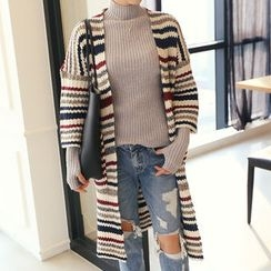 DANI LOVE - Striped Long Cardigan