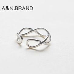AINIAN - 925 Sterling Silver Metal Open Ring