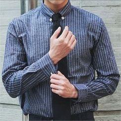 MITOSHOP - Striped Cotton Shirt