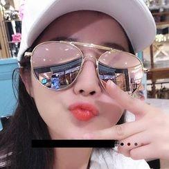 MYSHINE - Aviator Sunglasses