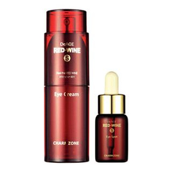 Charm Zone - DeAGE RED-WINE S Eye Cream Set: Eye Cream 35ml + Eye Spot 15ml