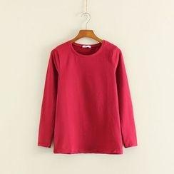 三木社 - 长袖纯色T恤