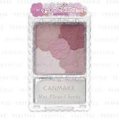 Canmake - Mat Fleur Cheeks (#02 Matte Girly Rose)