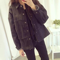 Eva Fashion - Loose-Fit Denim Jacket