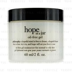 Philosophy - Hope In A Jar Oil-Free Gel Moisturizer (For Normal To Oily Skin)