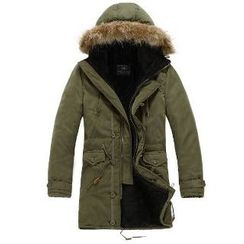 Aozora - Fleece-Lined Hooded Parka