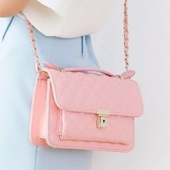 Axixi - Quilted Satchel
