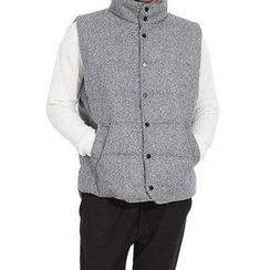 Seoul Homme - Snap-Button Padded Vest