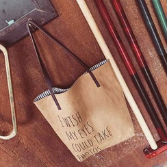 Pandabada - Lettering Shopper Bag