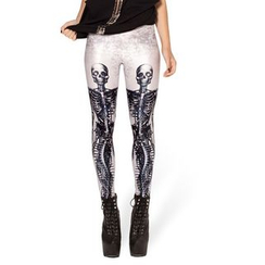 Omifa - Skeleton-Print Leggings
