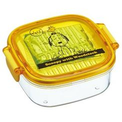 Skater - SNOOPY Clear Tight Lunch Box