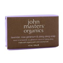 John Masters Organics - 薰衣草,玫瑰天竺葵及依蘭香皂
