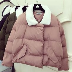 RUI - Fleece Collar Padded Jacket