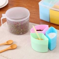 Showroom - Multi-Compartment Seasoning Container