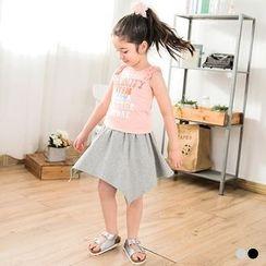 OrangeBear - Hanky-Hem Skirt