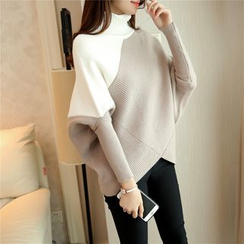 Bubbleknot - Color Block Thick Sweater