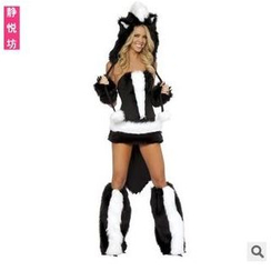 Cosgirl - Skunk Party Costume