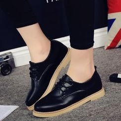 BAYO - Faux Leather Oxfords