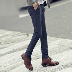 Blueforce - Fleece-lined Straight Pants