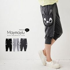 Maymaylu Dreams - Rabbit Capri Jogger Pants