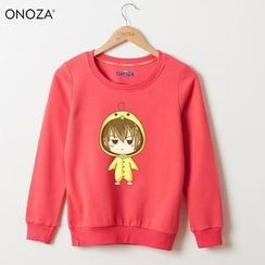 Onoza - Cartoon-Print Pullover