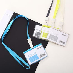 Color Station - Card Holder with Neck Strap